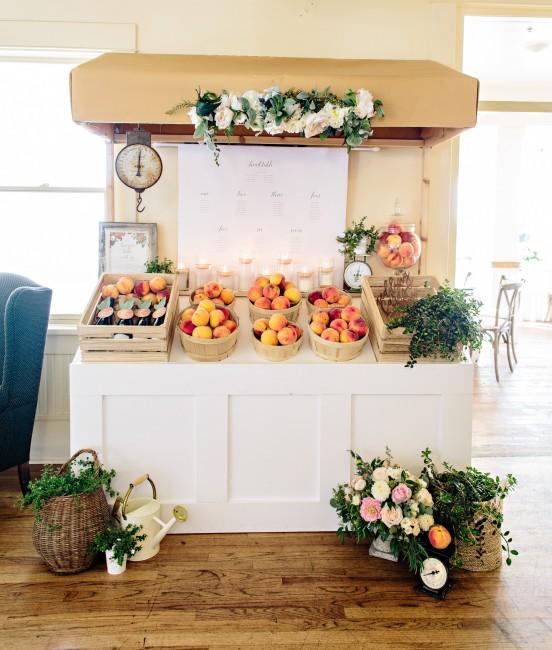 Peach Wedding Kelowna Wedding Decorating By Vintage Origami