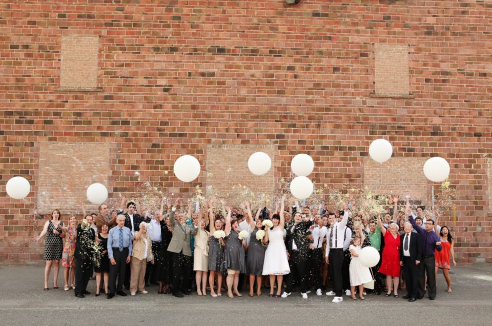 Vintage Themed Wedding at The Laurel Packinghouse