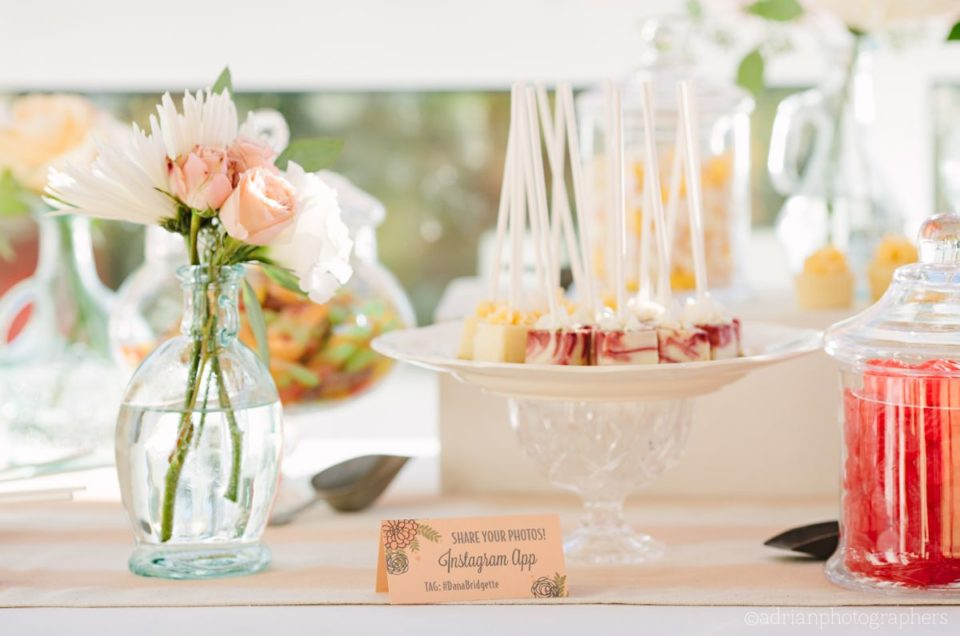 Cedar Creek and Eldorado Pastel Coral Wedding