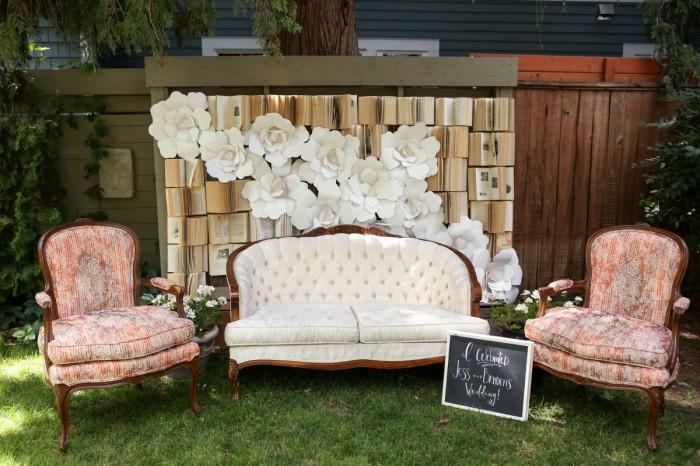 Intimate Kelowna Garden Wedding Decorating By