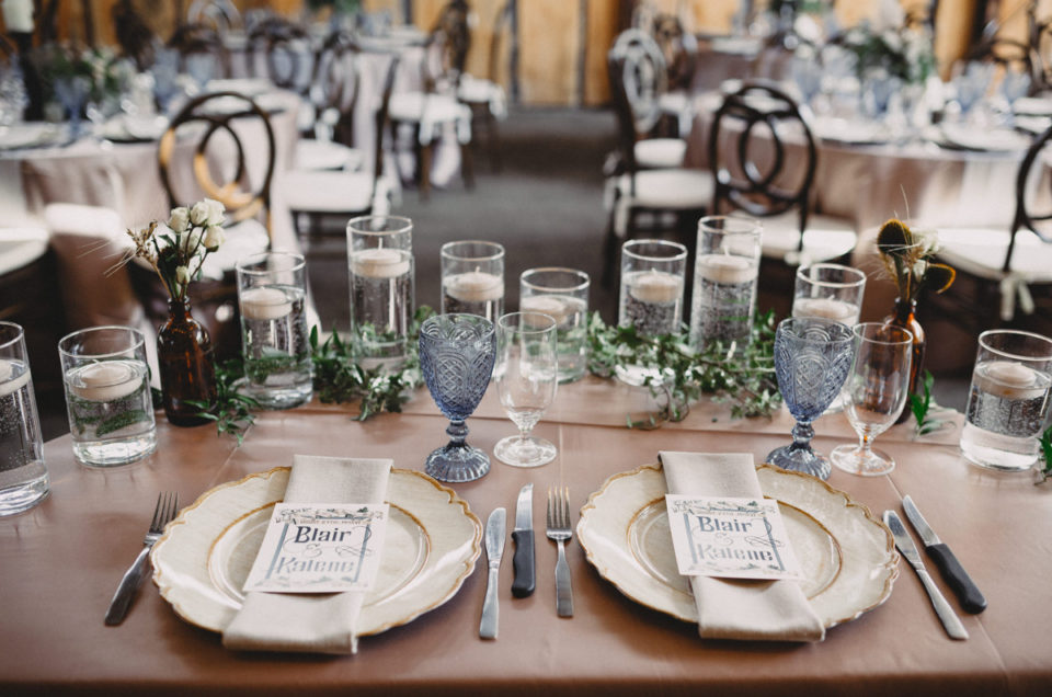 Silver Sage Steampunk Barn Wedding
