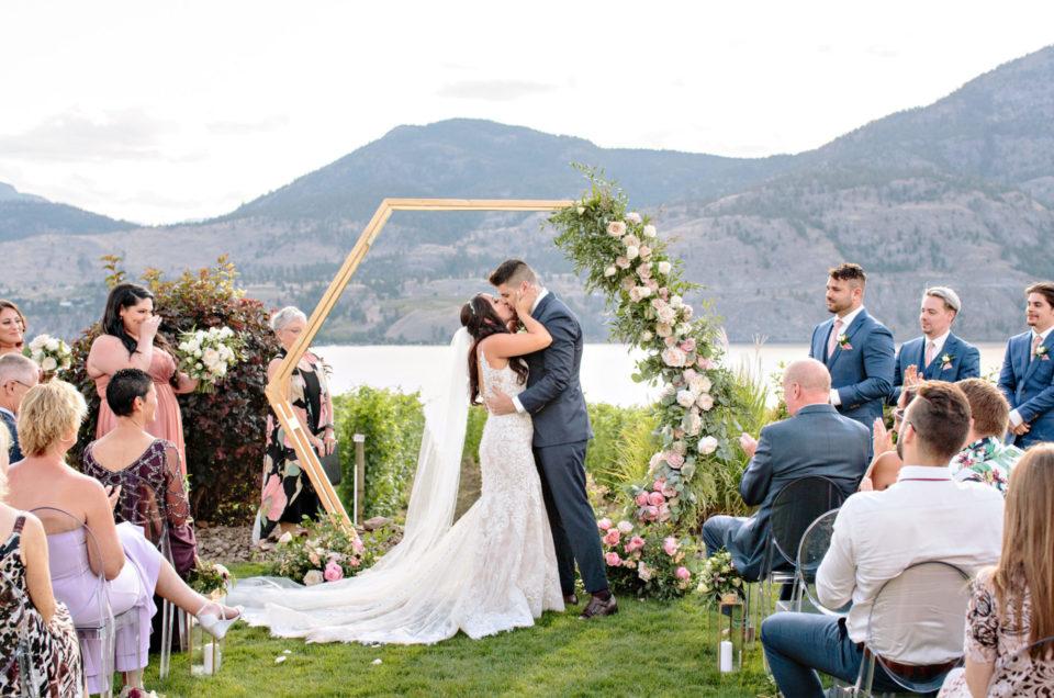 Okanagan Lakeview Wedding